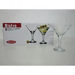 Бокал для мартини 190мл 6шт Bistro 44410