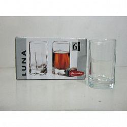 Стопка для водки 60мл 6шт Luna 42043