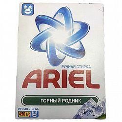 Стиральный порошок Ариэль 450гр ручная стирка Горный родник