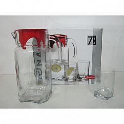 Набор кувшин 1,7л + 6 стаканов 250 мл. Luna 97328
