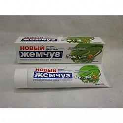 Зубная паста  Новый Жемчуг 100гр Семь трав