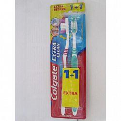 Зубная щетка  Colgate Extra Clean (1+1) улучшенная