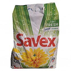 Стиральный порошок Savex 2.4кг авт. Diamond Parfum 2и1 Emerald Bloson