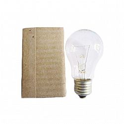 Лампа ЛОН 100/Е270 гофра