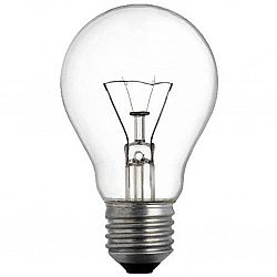 Лампа ЛОН 25/ Е27 гофра
