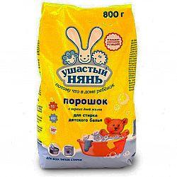 Стиральный порошок Ушастый нянь 800 гр.