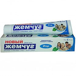 Зубная паста  Новый Жемчуг 50гр Фтор