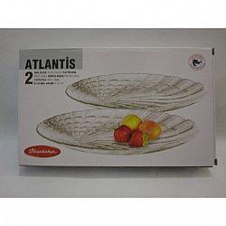 Тарелка овальная 147*240мм Atlantis 2шт10238