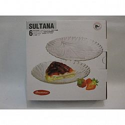 Тарелка десертная 195мм Sultana 6шт 10289
