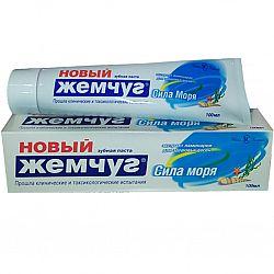 Зубная паста  Новый Жемчуг 100гр Сила моря
