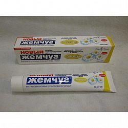 Зубная паста  Новый Жемчуг 50гр Ромашка