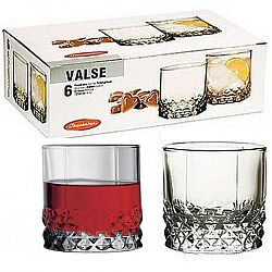 Cтакан для сока 210мл 6шт Valse 42943