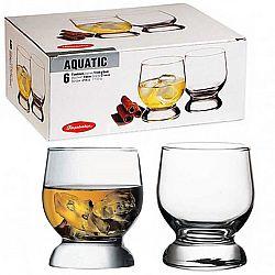 Стакан для води 214мл Aguatic 6шт 42973