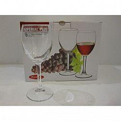 Бокал для вина, 240мл 6шт Imperial Plus 44799