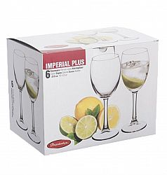 Бокал для вина 315мл 6шт Imperial Plus 44809