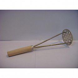 Картофелемялка круг.с деревянной ручкой