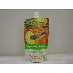 Гель для душа 170 мл. Мандарин ананас
