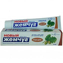 Зубная паста  Новый Жемчуг 50гр Кора дуба
