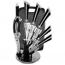 МК-К01 Набор ножей 10предметов на веерной вращающейся подставке