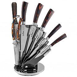 МК-К03 Набор ножей 8 предметов на веерной вращающейся подставке