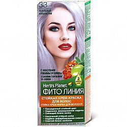 Крем-фарба для волосся Фіто лінія №33 Попелястий
