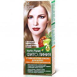 Крем-фарба для волосся Фіто лінія №34 Світло-русявий