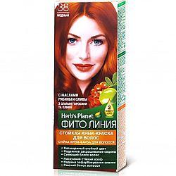 Крем-фарба для волосся Фіто лінія №38 Мідний