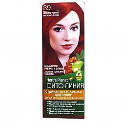 Крем-фарба для волосся Фіто лінія №39 Яскраво рудий