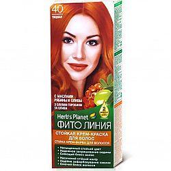 Крем-фарба для волосся Фіто лінія №40 Тициан