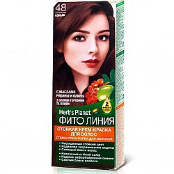 Крем-фарба для волосся Фіто лінія №48 Коньяк
