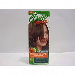 Крем-фарба для волосся Фіто лінія №49 Темний каштан