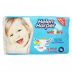 Підгузки Helen Harper №3 Midi (4-9 кг) 56шт