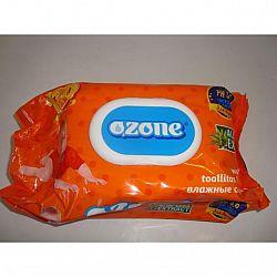 Влажные салфетки  OZONE витамин Е 120шт КЛАПАН
