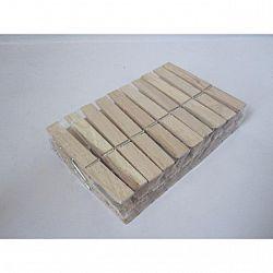Прищепки деревянные (10см) 24шт
