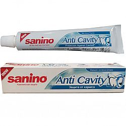 Зубная паста  Санино 50мл Защита от кариеса