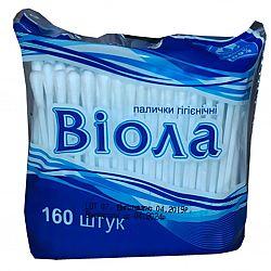 Палички гігієнічні Biола п/э160шт