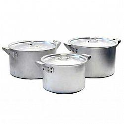 Набор алюминиевых цилиндр.кастрюль 4-пр.(2,5;3,5;4,5;6,0л )