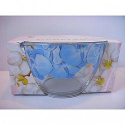 """Салатник д.185мм декор """"Яркие цветы-Орхидея"""" в подар.упаковке микс  Хит цена!!!"""