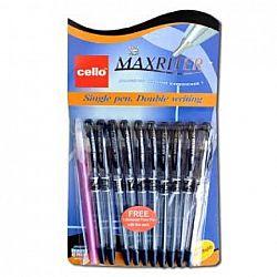 Ручка масляная MAXRITER Cello синяя 10шт 0762/240001S