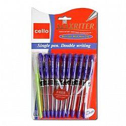Ручка масляная MAXRITER Cello фиолетовая 10 шт 0524
