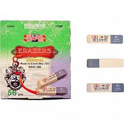 Ластик 6541/80 «Koh-i-noor» бело/серый цена за 1 шт