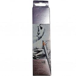 Набор прстых карандашей MARCO 6шт 2H-3В