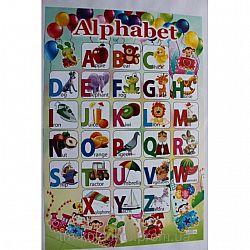 Азбука-плакат английский 640*450 меловка