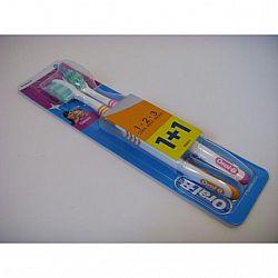 Зубная щетка  Oral-b средняя 2шт