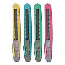 Нож канцелярский большой 18мм  15*3см