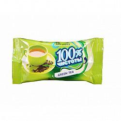 Влажные салфетки  100% чистоты Зеленый чай15шт