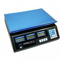 Электронные торговые весы OPERA (50 кг) со счетчиком цены