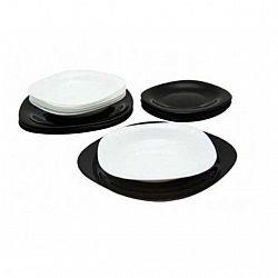 2380 Carine Bleck/White сервиз столовый 18пр