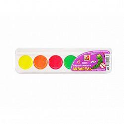 Акварель флуоресцентная 6 цветов  пластик б/к   Луч