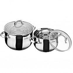 Набор посуды 4 пр (каст.2,0л+каст.3,0л)MK-BL6504A